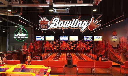 Bowling, Laser Game and £3 Funcard for Two or Four at Funstation, Hull