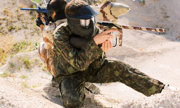 Paintball World Sports Complex - Paintball World Sports Complex: 90-Minute or Three-Hour Paintball Party for Ten at Paintball World Sports Complex (Up to 42% Off)