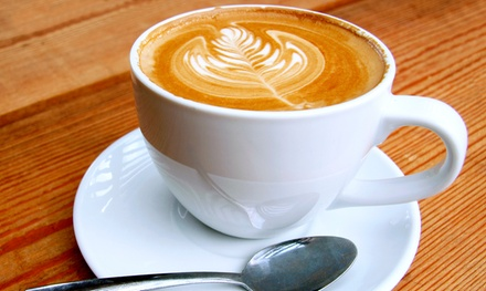 $10 for a Three-Visit Punch Card, Each Punch Worth $7 of Food and Drink at Coffee Waves ($21 Total Value)