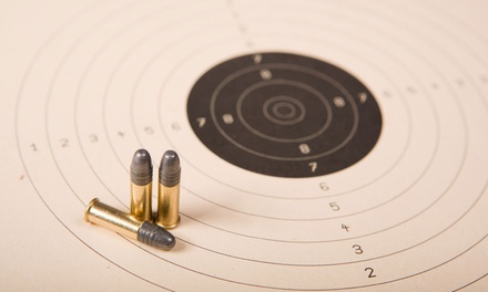 Shooting-Range Outing for One, Two, or Four, or 10 Shooting-Range Visits at Off Duty Armory (Up to 65% Off)