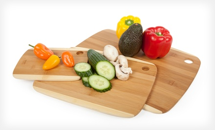 Set of 3 Core Bamboo Cutting Boards