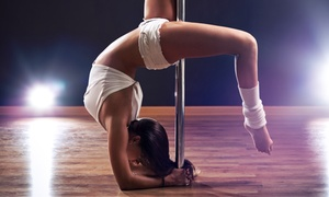 "PoleFIT Revolution: 5 or 10 PoleFIT or ""FIT"" Classes at PoleFIT Revolution (Up to 70% Off)"