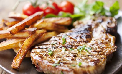image for Rib-Eye Steak Meal For Two (£15) or Four (£28.90) at Cactus Grill Bar Restaurant (Up to 48% Off)