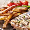 Rib-Eye Steak Meal For Two
