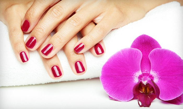 Light Salon & Spa, an Aveda Concept Salon  - Bay Village: One or Three Gel Manicures and Signature Pedicures at Light Salon & Spa, an Aveda Concept Salon in Avon (Up to 61% Off)