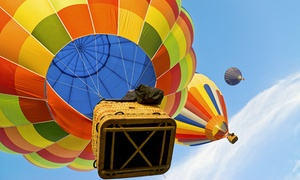 High on You Balloon Team : Hot Air Balloon Ride for One or Two from High on You Balloon Team (Up to 46% Off)