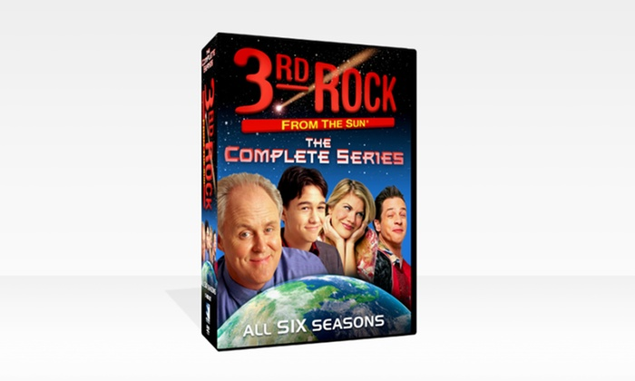 3rd Rock from the Sun DVD Box Set: 3rd Rock from the Sun DVD Box Set.