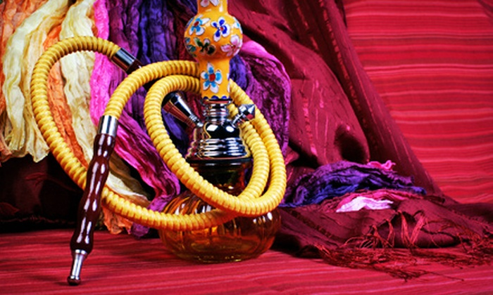 New Delhi Hookah Lounge - Bella Vista - Southwark: Hookah Packages for Two or Four at New Delhi Hookah Lounge (Up to Half Off). Four Options Available.