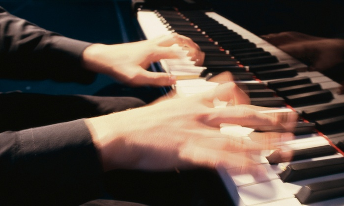Shake, Rattle, and Roll Dueling Pianos - The Cellar: Shake, Rattle & Roll Dueling Pianos at The Cellar on Saturdays at 10 p.m. through April 30 (Up to 55% Off)