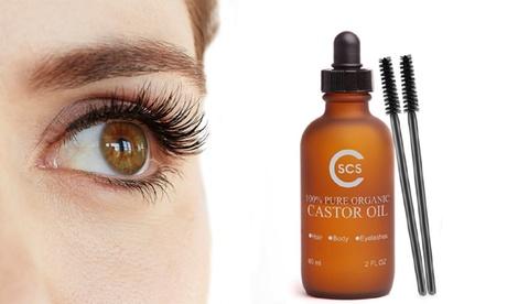 Pure Organic Castor Oil for Eyelashes