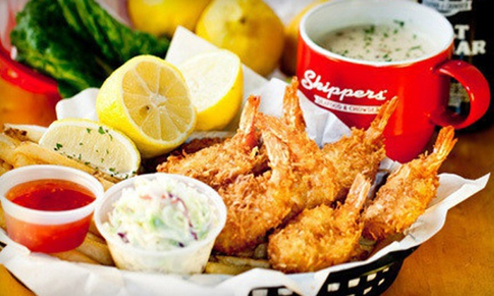 Skippers - Suncrest: $15 for Three Groupons, Each Good for $10 Worth of Sustainable Seafood at Skippers ($30 Total Value)