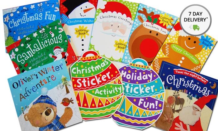 Bundle of 10 Christmas Activity Books: Bundle of 10 Christmas Activity Books