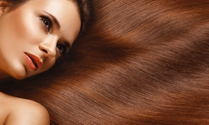 Al Najmah Al Masyah Ladies Beauty Salon: Hair Treatment With Optional Color, Cellophane or Curling from Al Najmah Al Masyah Ladies Beauty Salon (Up to 60% Off)