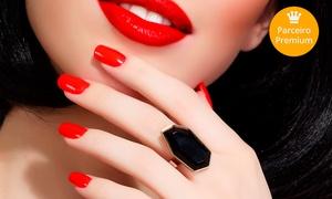 Dpilla: Aplicação de unhas em gel, acrigel ou fibra de vidro (opção com manicure) na Dpilla –Setor Sudoeste