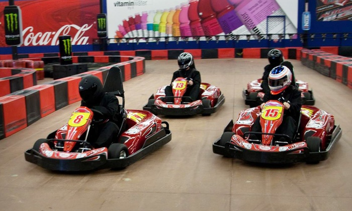 Driven Raceway - Multiple Locations: 2 or 4 Go-Kart Races for Adults or Kids with Mini Golf or Arcade Games at Driven Raceway (Up to 51% Off)