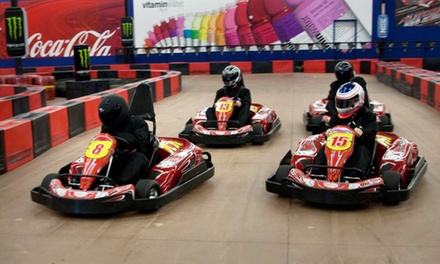2 or 4 Go-Kart Races for Adults or Kids with Mini Golf or Arcade Games at Driven Raceway (Up to 51% Off)