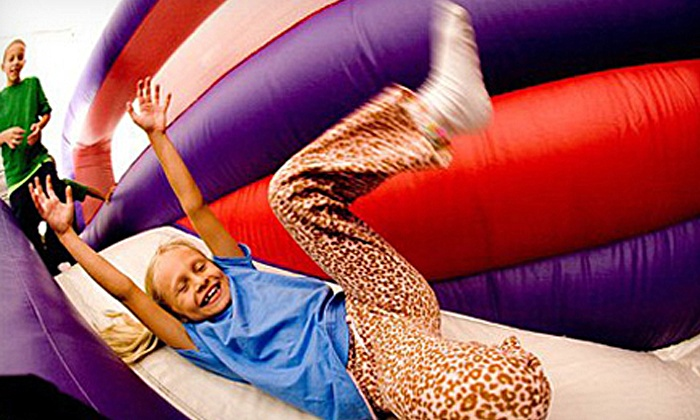 BounceU Bridgewater - Central Jersey: 5 or 10 Open-Bounce Visits at BounceU Bridgewater (Up to 53% Off)