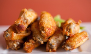 Wing Tastic: $13.50 for Three Groupons, Each Good for $7 Worth of Wings at Wing Tastic ($21 Value)