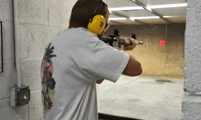 Cedar Creek Gun Range and Shop - Greater Gainesville Area: Gun-Range Package for Two or Four at Cedar Creek Gun Range and Shop (Up to 46% Off)