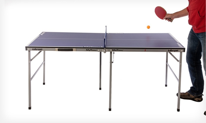 Killerspin Tennis Tables and Accessories: Killerspin Racket and Balls Set or MyT-Small Tennis Table (Up to 28% Off). Free Shipping and Returns.