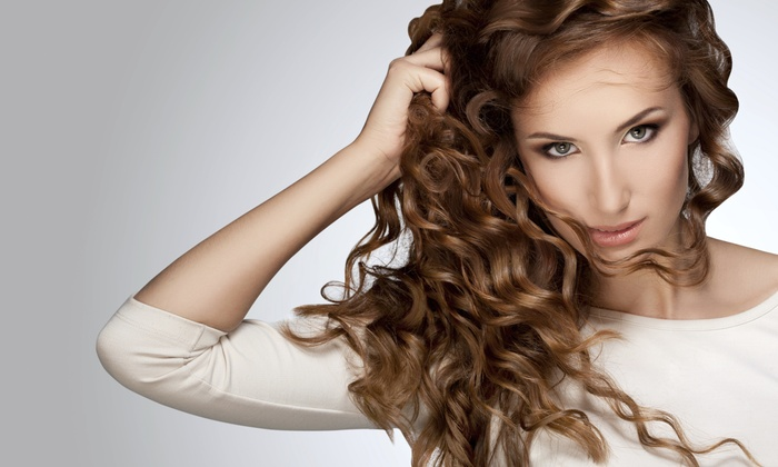 Waves of Color Salon and Spa - Springlake-University Terrace: Haircut with Conditioning Treatment and Optional Highlights or Lowlights at Waves of Color Salon and Spa (57% Off)