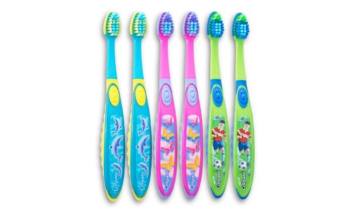 Colgate Smiles Children's Toothbrush 6-Pack: Colgate Smiles Children's Toothbrush 6-Pack