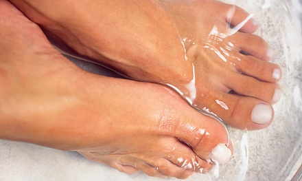 Lavender or Peppermint and Lemongrass Foot Soak at Iyashi Wellness Center Foot Soak Spa (Up to 69% Off)