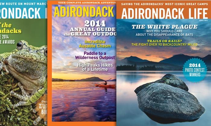 "Adirondack Life Magazine: $14 for a One-Year Subscription to ""Adirondack Life Magazine"" ($27.95 Value)"
