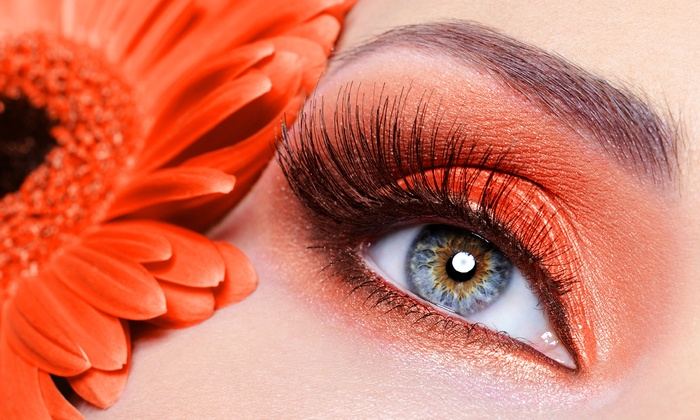 Loving Lash - Koreatown: 70 or 90 Eyelash Extensions Per Eye with Eyebrow or Lip Wax at Loving Lash (59% Off)