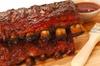 Scrooge Diner - Johannesburg: Ribs, Chips and Garlic Loaf at Scrooge Diner
