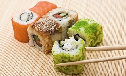 $25.99 for $50 Worth of Japanese Food and Drinks at Sushi on the Rocks