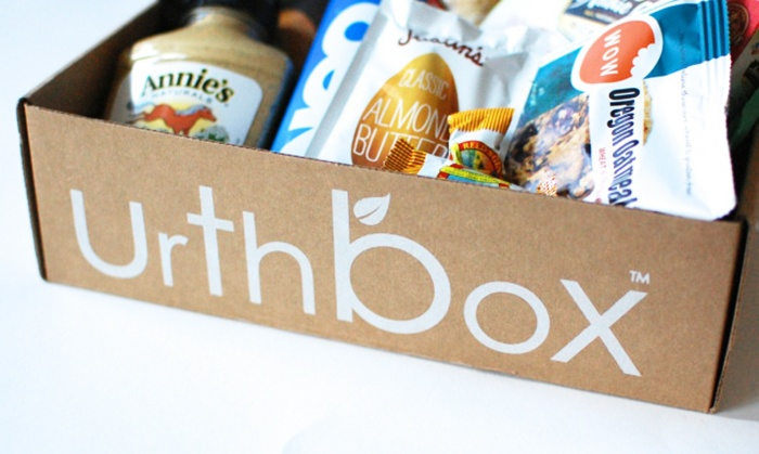 UrthBox: Delivery of a Small, Medium, or Large Box of Healthy Snacks for One Month from UrthBox (41% Off)