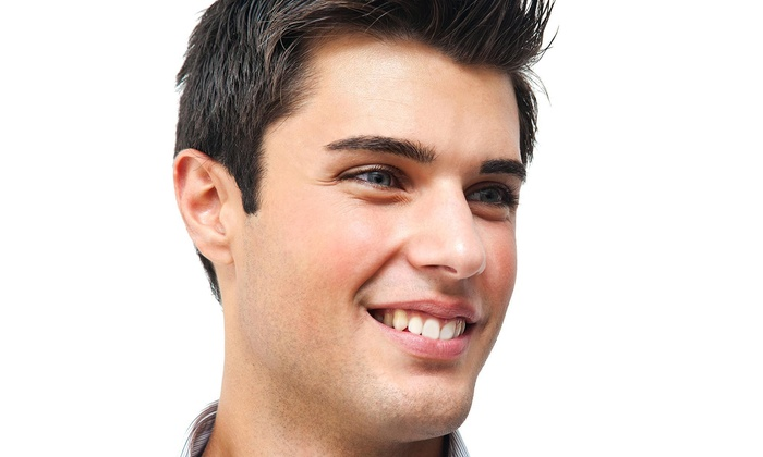Ur Salon - Houston: Five Men's Haircuts with Shampoo and Style from UR Salon (65% Off)