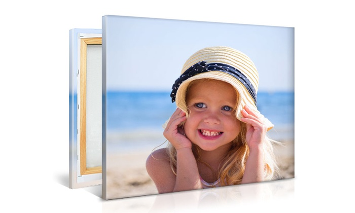 Printerpix: Custom Photo Canvas from PrinterPix (Up to 55% Off). Multiple Sizes Available.