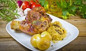 Zur Kastanie: Spanferkel All-you-can-eat für Zwei oder Vier im Restaurant Zur Kastanie ab 17,90 € (bis zu 70% sparen*)
