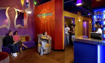 $29.95 for Two Spray Tans at South Beach Tanning ($60 Value)