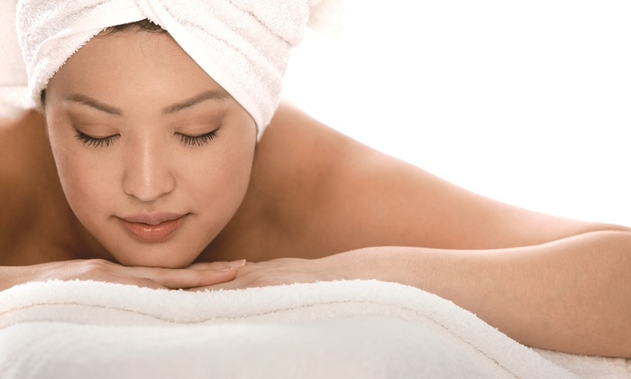 Heavenly Massage - Multiple Locations: 40-Minute Massage with Aromatherapy or Microdermabrasion with Microcurrent Therapy at Heavenly Massage (Up to 60% Off)
