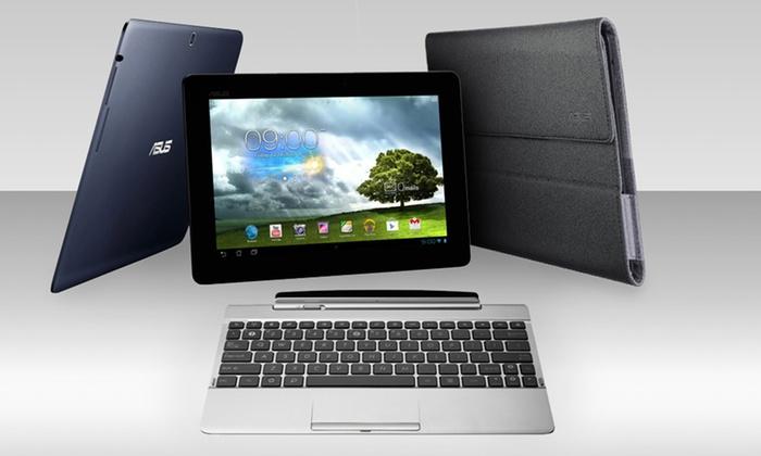 """ASUS 10.1"""" 32GB TF300T Tablet Bundles: ASUS 10.1"""" 32GB Transformer TF300T Tablet Bundles (Manufacturer Refurbished). Sets from $239.99–$279.99. Free Returns"""