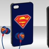 $11.99 for Batman or Superman iPhone 5 Case and Earbuds