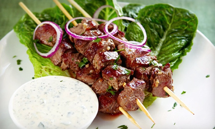 Babylon Gyros & Shish Kabobs - Glendale: Mediterranean Food for Two or Four at Babylon Gyros & Shish Kabobs (Half Off)