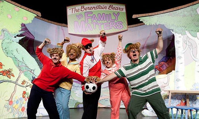 "The Berenstain Bears: Family Matters - RiverPark Center: ""The Berenstain Bears LIVE! in Family Matters: The Musical"" on Friday, November 20, at 6:30 p.m."