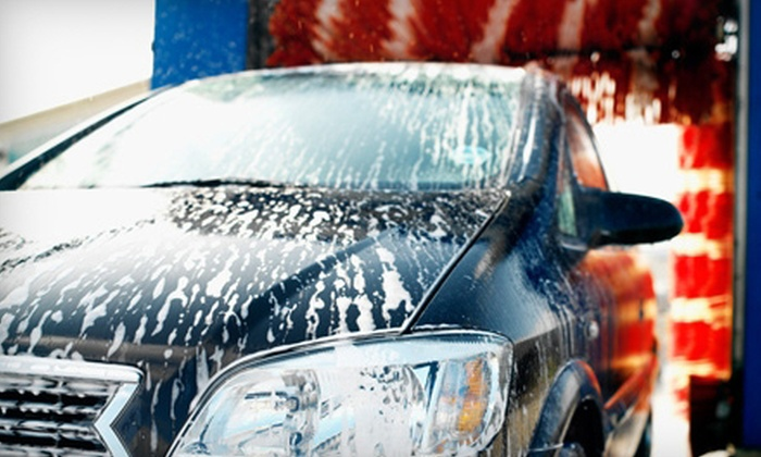 Super-Suds - Multiple Locations: Exterior Car Wash with Hand Dry and Interior Fragrance or Deluxe Wash Package at Super-Suds (Up to 53% Off)