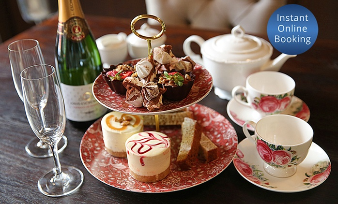 High Tea for Two and Glass ($59) or Bottle of Sparkling Wine ($69) at Cicchetti Restaurant & Wine Bar (Up to $155 Value)