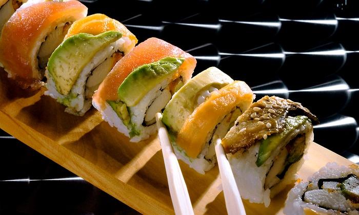 Rakhapura Mutee and Sushi - Grant Ferry: Sushi at Rakhapura Mutee and Sushi (Up to 40% Off). Two Options Available.