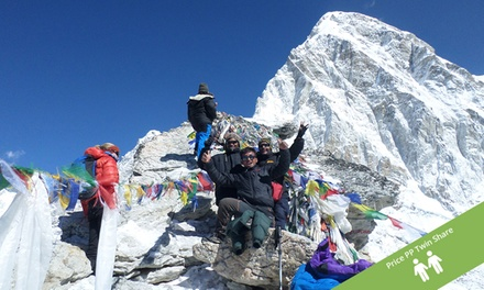 Nepal: $1,069 Per Person for First 50 Trekkers for a 16-Day Guided Everest Base Camp Trek and Accommodation