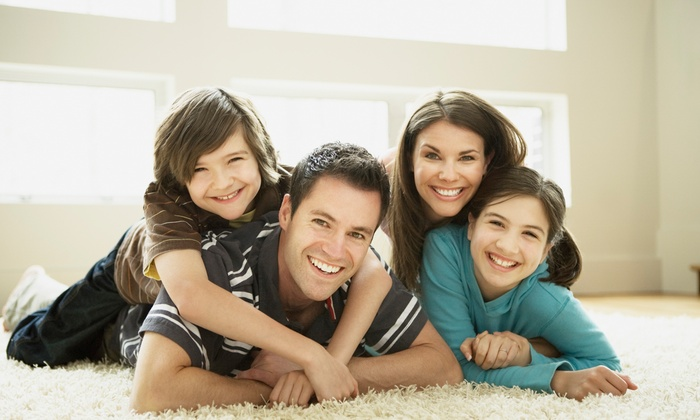Cascade Management - Washington DC: Carpet Cleaning for Three Rooms and One Hallway or an Entire Home from Cascade Management (Up to 84% Off)