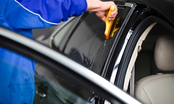 Atlantic Pinstriping - Indian Trail: Window Tinting for a Two-Door Car from Atlantic Pinstriping (45% Off)