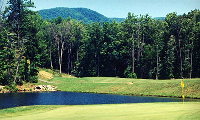 Hanging Rock Golf Club - Salem: Weekend or Weekday Round of Golf for Two with Range Balls at Hanging Rock Golf Club in Salem (Up to Half Off)