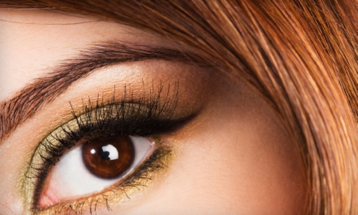 Pretty Threading - Multiple Locations: One or Three Eyebrow, Upper and Lower Lip Threading Sessions at Pretty Threading (Up to 55% Off)