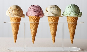 Creamy Treats Ice Cream Parlor: $12 for Five Groupons, Each Good for $4 Worth of Ice Cream at Creamy Treats Ice Cream Parlor ($20 Value)